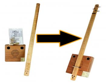 Cigar Box Guitar Kit-the Easiest Kit to Build!